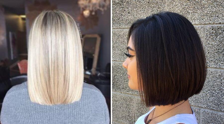 How to cut your own hair straight?
