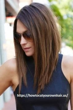How to cut a long bob with layers?